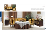 Light luxury first choice fixed furniture catering series